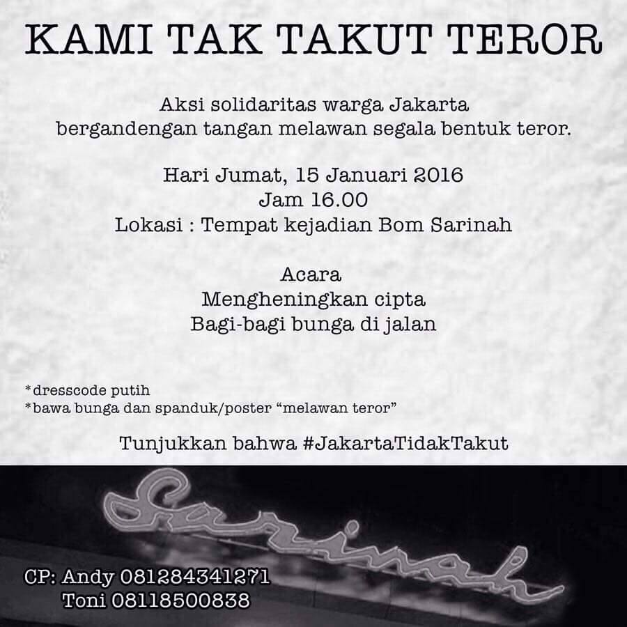 #JakartaTidakTakut