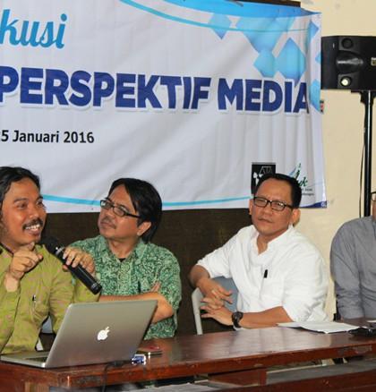 Narasumber dalam Rembuk Media Menyoal Gafatar