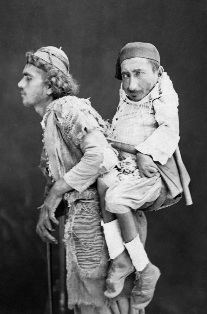 """Arsip foto """"'Mohammed and Sameer of Syria"""" pada tahun 1889 di kota Damaskus, Suriah. (ARSIP)"""